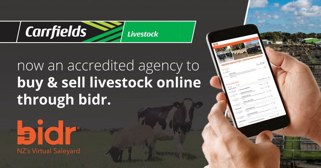 Carrfields Carrfields Livestock are now an accredited agency to buy and sell livestock through bidr. - Carrfields - Your trusted partner Carrfields - Your trusted partner